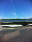 A view of the Potomac and the Washington Monument