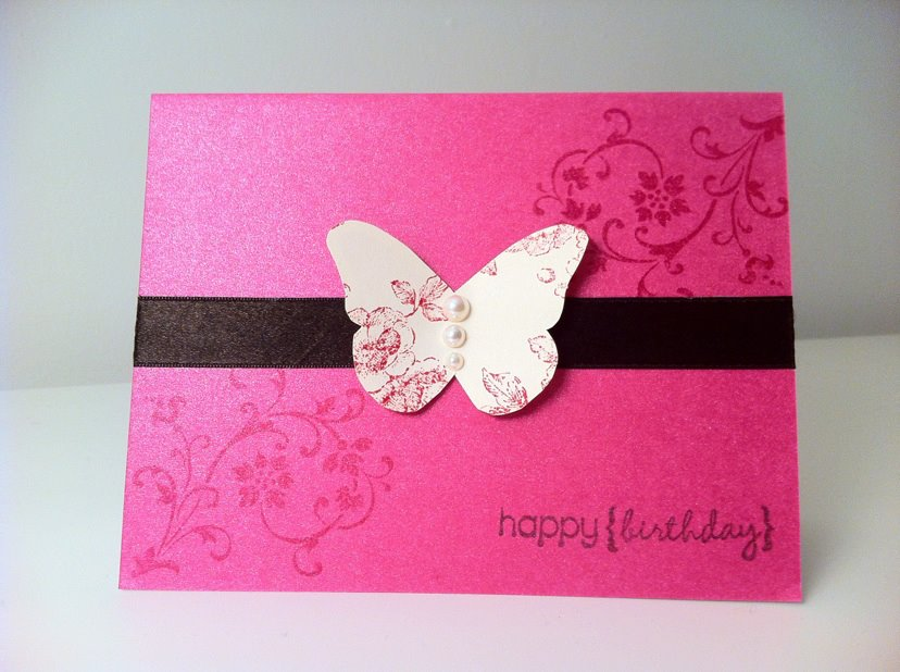 Greeting card theyarnfix simple birthday card m4hsunfo